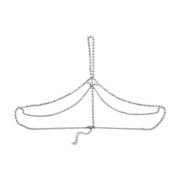 K & M Associates L.p. Bongo Junior's Silvertone Jeweled Headpiece