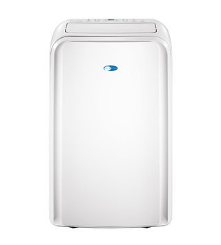 Whynter Portable Air Conditioners 12000 BTU Dual Hose Portable Air Conditioner with 3M and Silvershield Filter White ARC-126MD