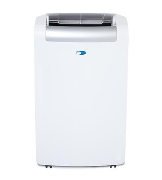 Whynter ARC148MS 14,000 BTU Portable Air Conditioner with 8.9 EER, R-410A Refrigerant, 71 Pts/Day Dehumidification, 500 sq. ft. Cooling Area, Self-Evaporative and Auto Restart