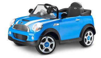Kid Trax Mini Cooper 6V Battery Powered Car Color: Blue