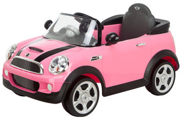 Kid Trax Mini Cooper 6V Battery Powered Car Color: Pink
