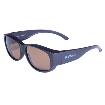Global Vision Eyewear Corporation Matte Black Frame with Brown Polarized Lens