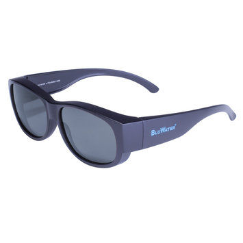 Global Vision Eyewear Corporation Matte Black Frame with Grey Polarized Lens