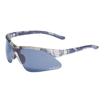 Global Vision Eyewear Corporation Semi Rimless Camo Frame with Grey Polarized Lens