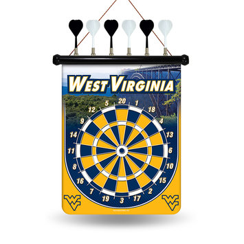 Creative Awards/nameplates Inc West Virginia University Mountaineers Magnetic Dart Set