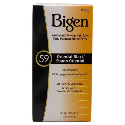 Bigen Hair Colour Oriental Black No. 59