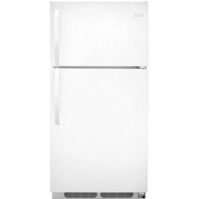 Frigidaire Refrigerator. 15 cu. ft. Top Freezer Refrigerator in White, Energy Star FFHT1514QW