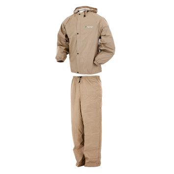 Guntersville Breathables, Inc. Pro Lite Rain Suit Khaki - M/L