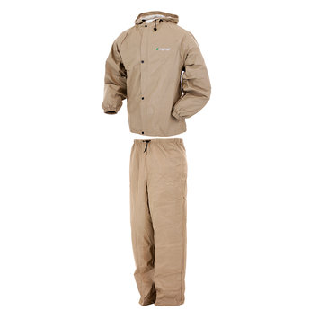 Guntersville Breathables, Inc. Pro Lite Rain Suit Khaki - X/XXL