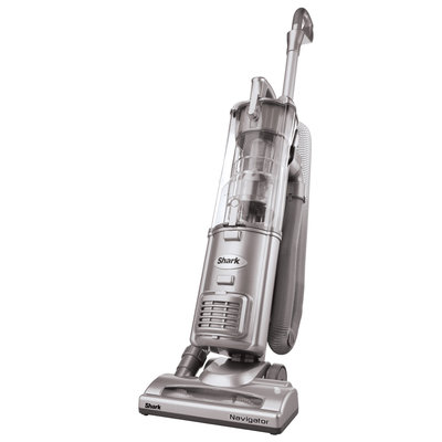 Shark - Navigator Self-propelled Bagless Upright Vacuum - Silver