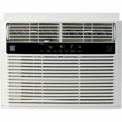 Frigidaire Company Kenmore 10 000 BTU 115V Window-Mounted Mini-Compact Air Conditioner - White