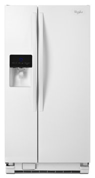 Whirlpool White Side-By-Side Refrigerator