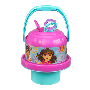 Little Kids Inc. No-Spill Dora and Friends Bubble Bucket