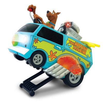 Nkok Scooby Doo Remote Control Wheelie Mystery Machine