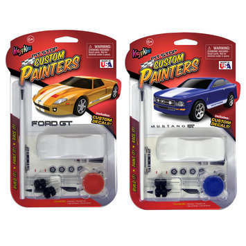 Max Traxxx Custom Painter Ford GT and Mustang Bundle