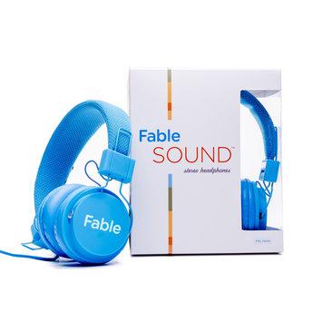 Vizit Fable Sound Headphone - Stereo - Blue - Wired - Over-the-head - Binaural - Circumaural (fbl1000blu)