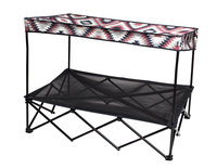 Quik Shade 30 in. x 42 in. Large Navajo Blanket Instant Pet Shade with Mesh Bed 160232