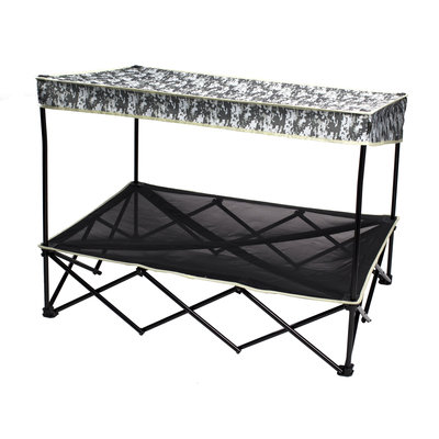 Quik Shade 30 in. x 42 in. Large Digital Camo Instant Pet Shade with Mesh Bed 160234