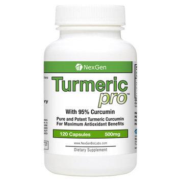 NexGen Biolabs TurmericPro With 95% Curcumin (120 Count)
