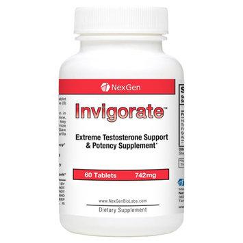 Nexgen Biolabs Invigorate Testosterone Booster (60 Count)