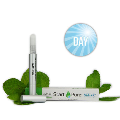 Start Pure, Llc Start Pure Active Day - Teeth Whitening Gel Pen, Spearmint