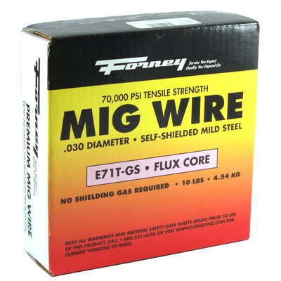 10 Pound .030 Flux Cord Wire 42301 by Forney Industries