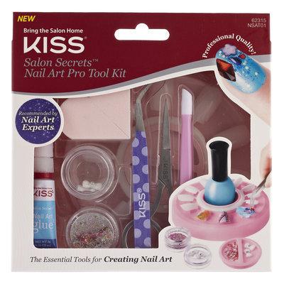 Kiss Nail Products, Inc. Kiss Salon Secretsa ¢ Nail Art Pro Tool - Complete Kit, 0.10 Oz