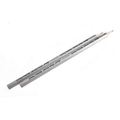 Forney Industries Inc Marking Pencil, Silver Lead, 2-Pack