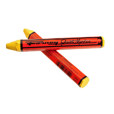 Forney 70811 Cold Surface Marker Yellow 2 Pack