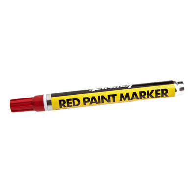 Forney Industries Inc Marker, Paint, Red