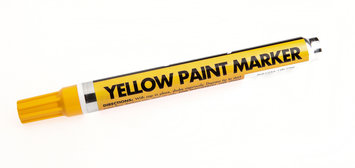 Forney Industries Inc Marker, Paint, Yellow