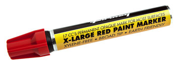 Forney Industries Inc Marker, Paint, Extra-Large, Red