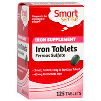 Iron Supplement Tablets 125 Ct.