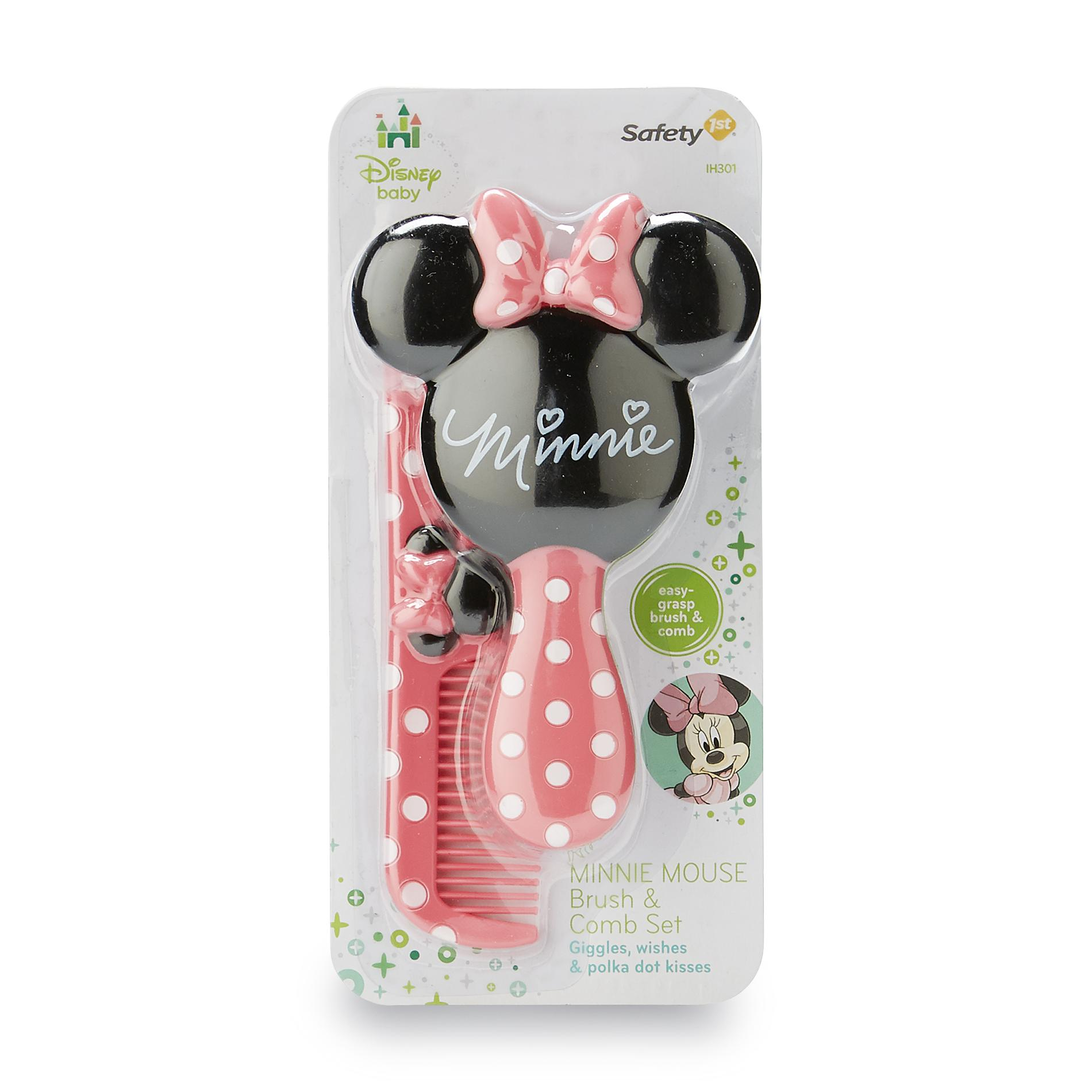 Safety 1st Minnie Mouse Brush & Comb Set
