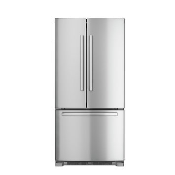 Bosch 800 Series B22FT80SNS 21.9 cu. ft. French Door Refrigerator with Spill-Proof Glass Shelves, Gallon Door Bin, Humidity-Controlled Crispers, Internal Water Dispenser and Ice Maker