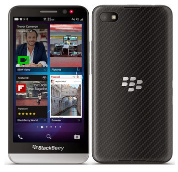 J.c. Hermans Floral Distributors, Inc. Blackberry Z30 STA100-5 16GB Unlocked GSM 4G LTE OS 10.2 Cell Phone - Black