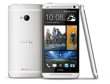 Abudoe Software, Inc. HTC One 32GB 6500L Verizon CDMA + Unlocked GSM Android Cell Phone - Silver