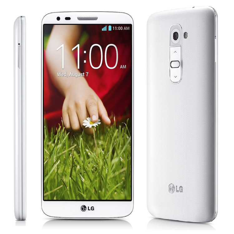 Meats Of Spain, Inc. LG G2 D800 4G LTE 32GB AT & T Unlocked GSM Android Cell Phone - White