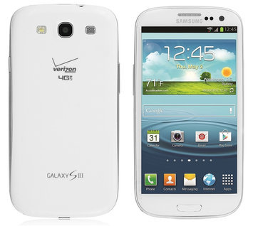 Abudoe Software, Inc. Samsung Galaxy S3 I535 16GB Verizon + Unlocked GSM 4G LTE Cell Phone - White