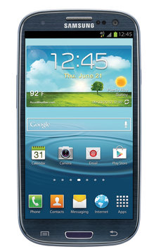 Blair Tops, Inc. Samsung Galaxy S3 I747 16GB AT & T Unlocked GSM 4G LTE Android Phone - Blue