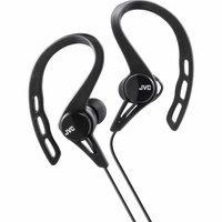 Jvc - Sport Clip-on Earbud Headphones - Black
