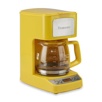 Aca Hong Kong Ltd 5-Cup Yellow Coffee Maker