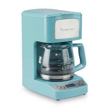 Aca Hong Kong Ltd 5-Cup Light Blue Coffee Maker