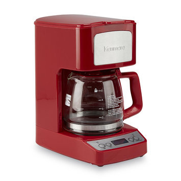 Aca Hong Kong Ltd 5-Cup Red Coffee Maker