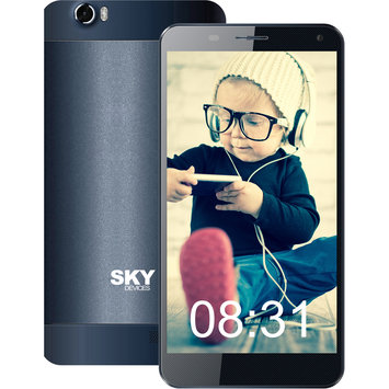 Cam Consumer Products, Inc. Sky Devices 6.0Q 16GB 3G/4G Android4.4 Unlocked Smartphone (Black)