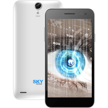 Cam Consumer Products, Inc. Sky Devices 5.5W 4GB 3G/4G Android4.4 Unlocked Smartphone (White)