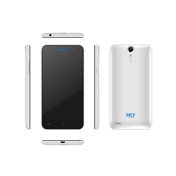 Cam Consumer Products, Inc. Sky Devices 5.0S 8GB 3G/4G Android4.4 Unlocked Smartphone (White)