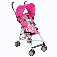 Dorel Juvenile Umbrella Stroller with Canopy - All about Minnie