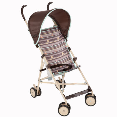 Dorel Juvenile Umbrella Stroller with Canopy - My Hunny Stripes