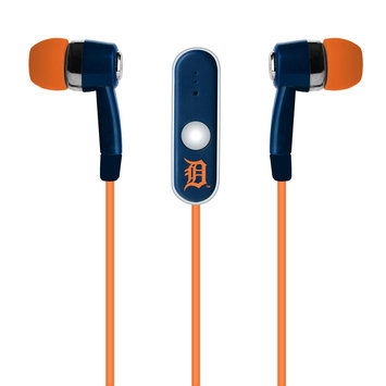 Cell Armor Licensed MLB Earbuds. Detroit Tigers